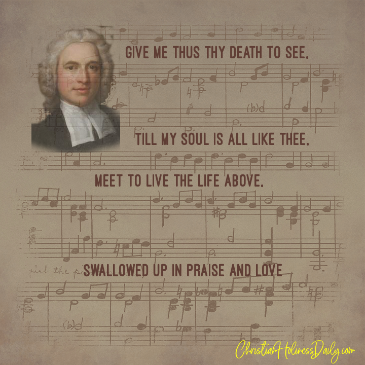 Snippets of Hymns from Charles Wesley